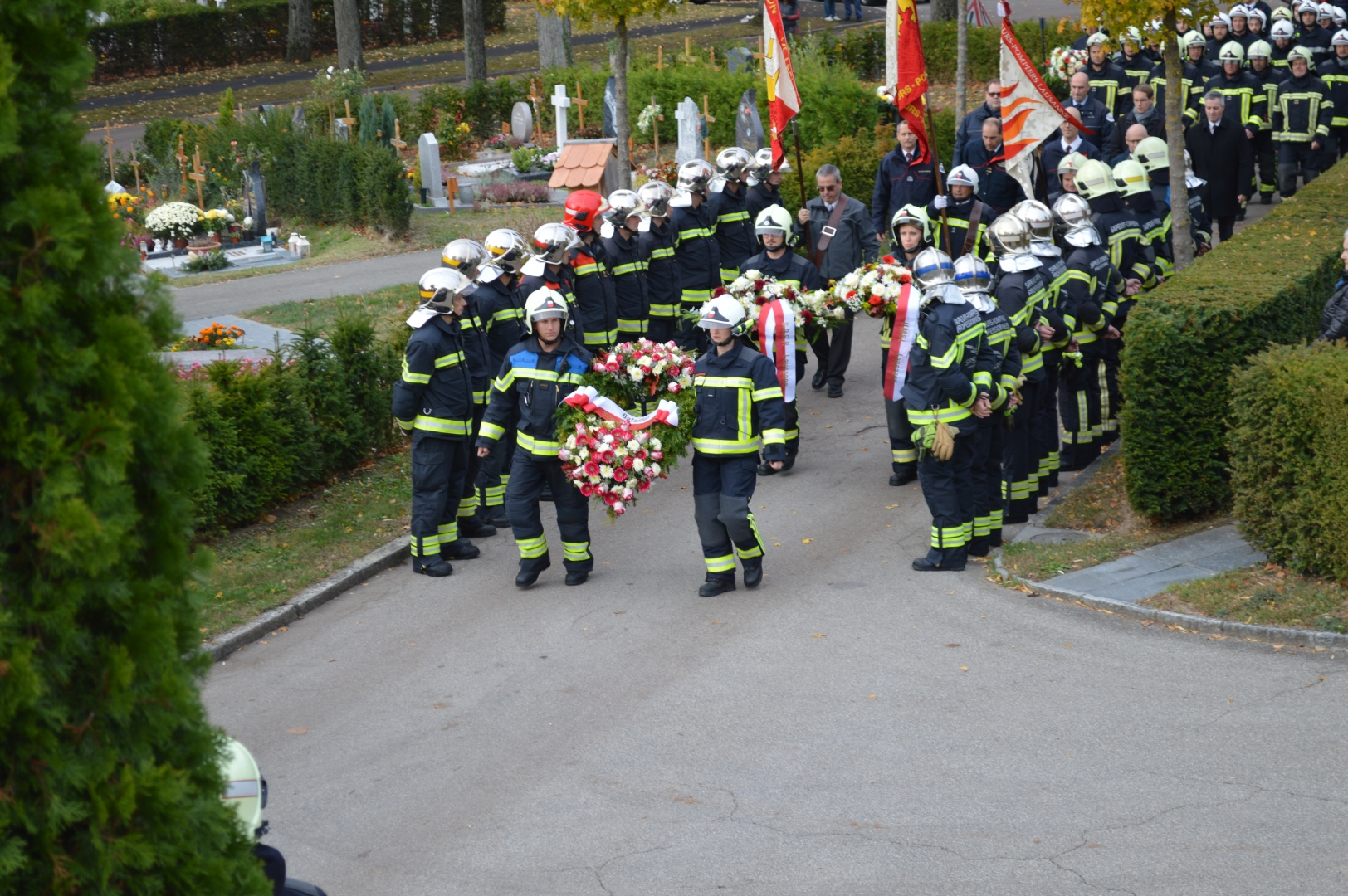 Hommage Aux Sapeurs Pompiers Disparus